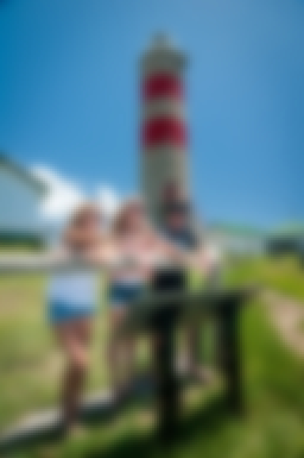 Lighthouse with friends